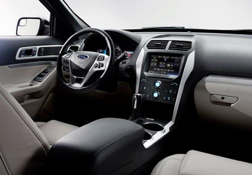 Ford Explorer Sport интерьер