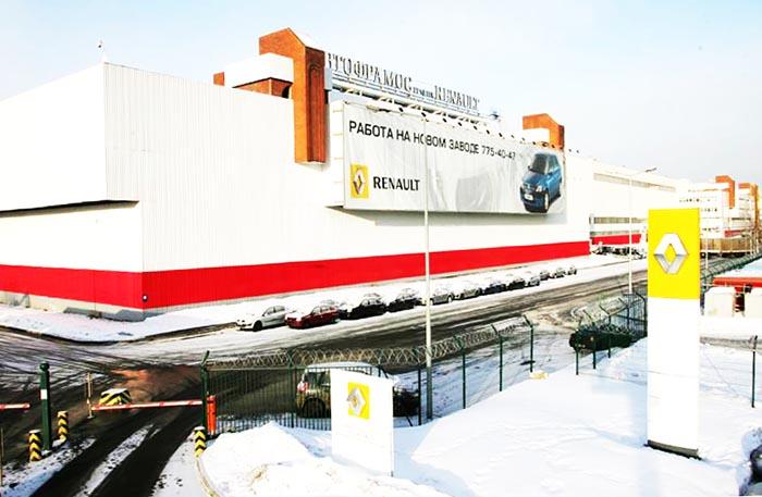 где собирают Renault Duster