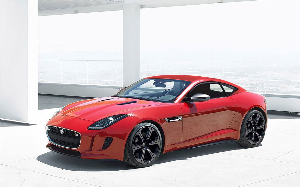 Jaguar-F-Type-Coupe-Front-left-side-view