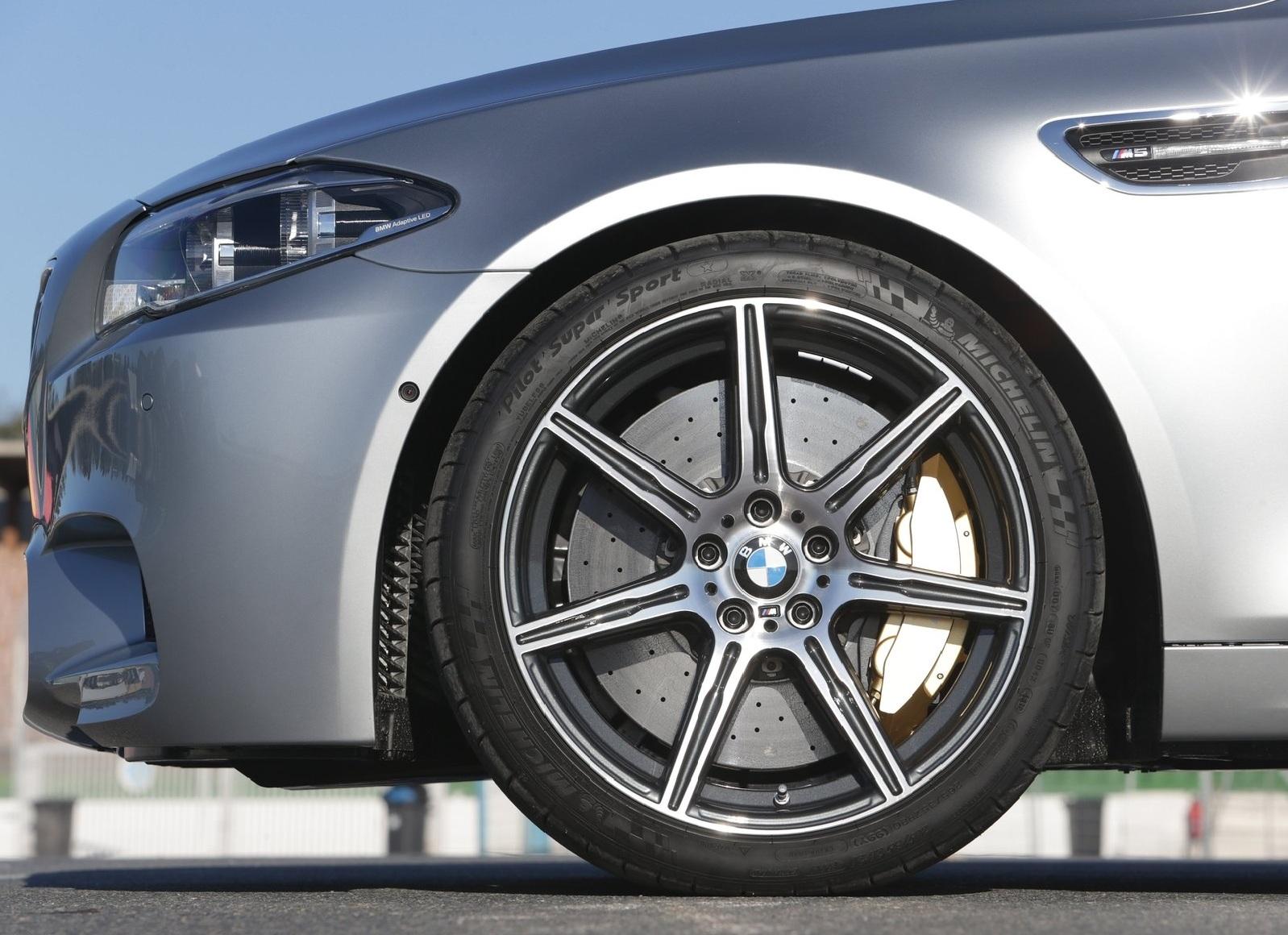 BMW M5 2014 колесо и диск