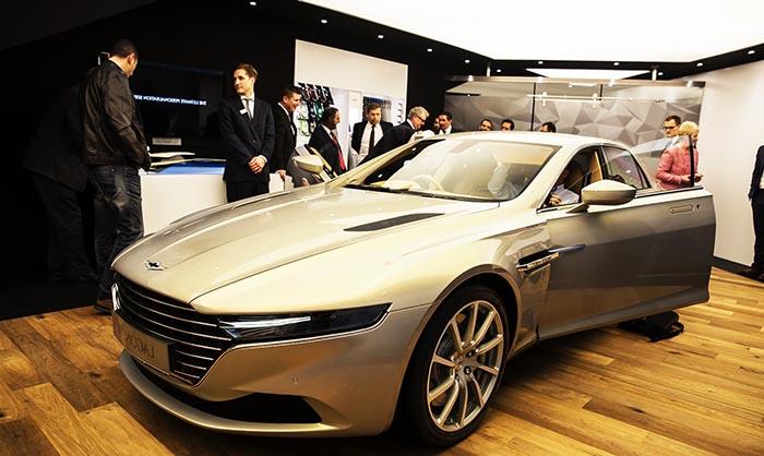 новинки Женевы 2015 от Aston Martin