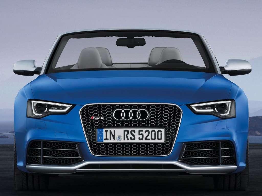 Audi RS5 Cabriolet Front