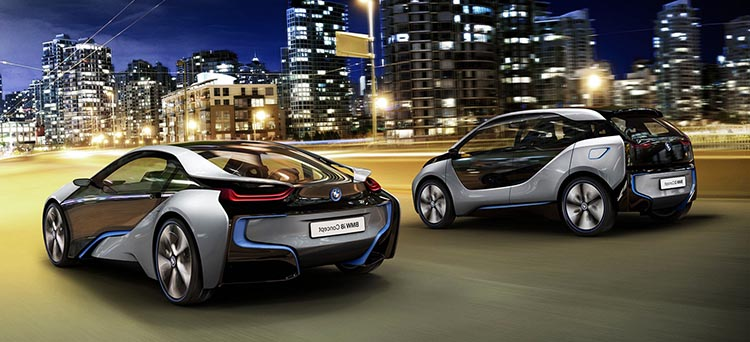 электрические автомобили №5