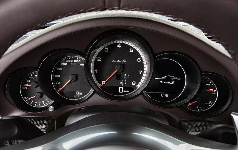 Porsche-911 Turbo S panel
