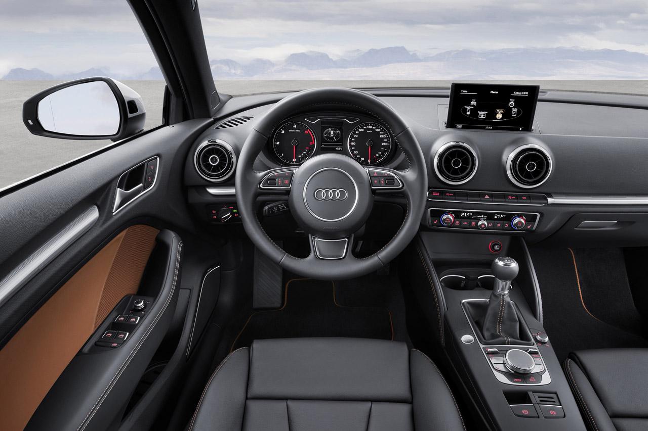 New Audi A3 интерьер