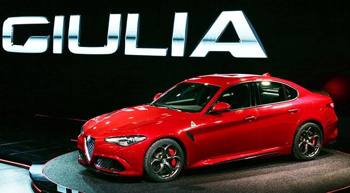 фото внешнего вида Alfa Romeo Giulia QV: новинки автосалона во Франкфурте