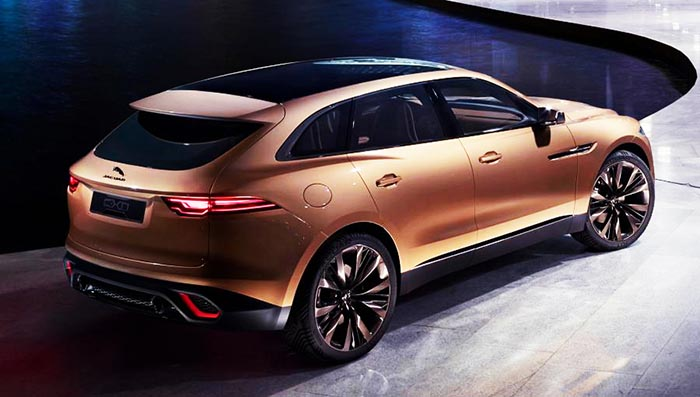 фото внешнего вида Jaguar F-PACE: новинки автосалона во Франкфурте