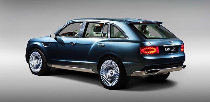 фото внешнего вида Bentley Bentayga: новинки автосалона во Франкфурте