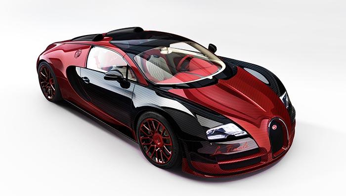 фото внешнего вида Bugatti Vision Gran Turismo: новинки автосалона во Франкфурте
