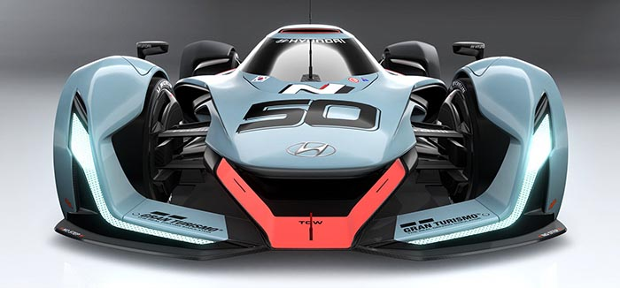 фото внешнего вида Hyundai N 2025 Gran Turismo: новинки автосалона во Франкфурте