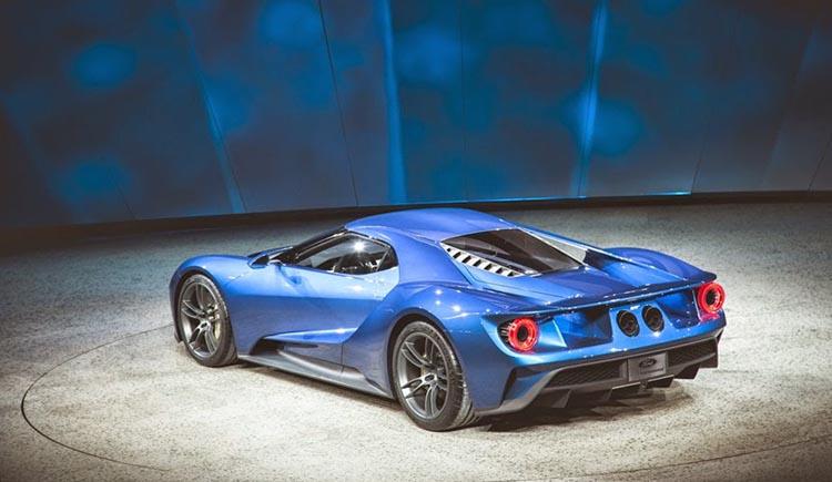 тест – драйв Ford GT 2017 №5