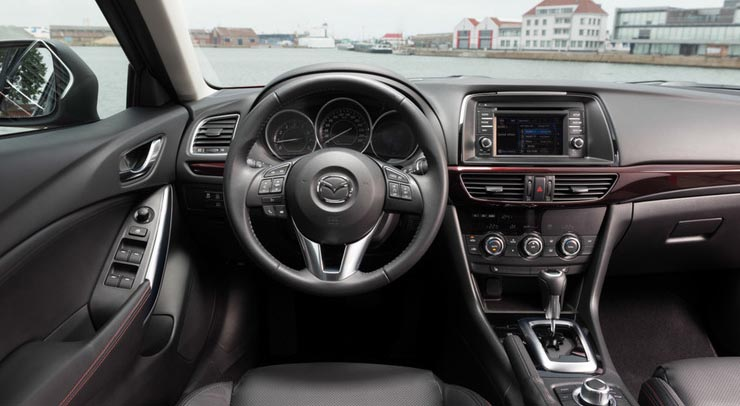 тест – драйв  Mazda 6 №2