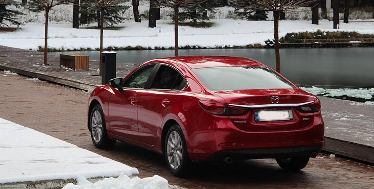 тест – драйв  Mazda 6 №4