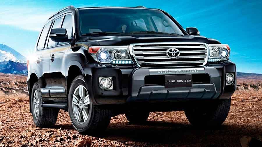 Замена масел Toyota Land Cruiser 200