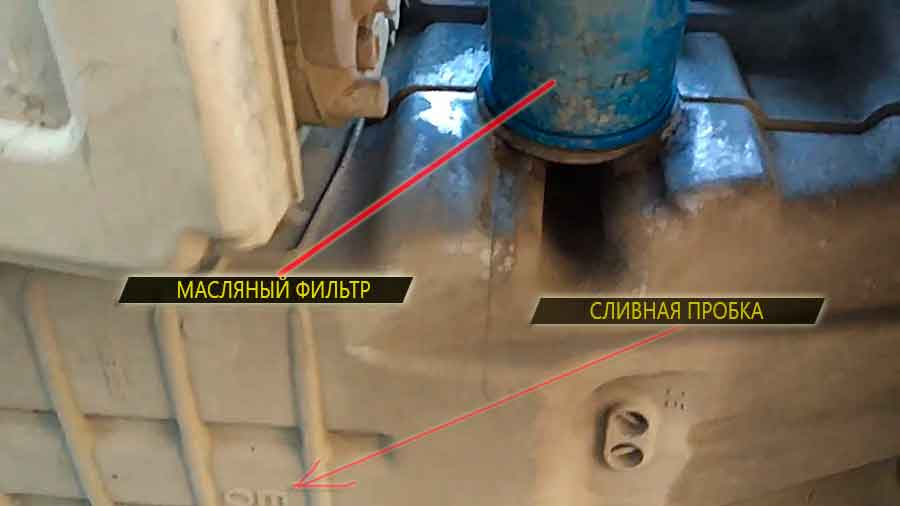 Расположение масляного фильтра на хонда аирвейв