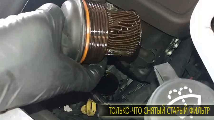 Шевроле каптива где находится масляный фильтр