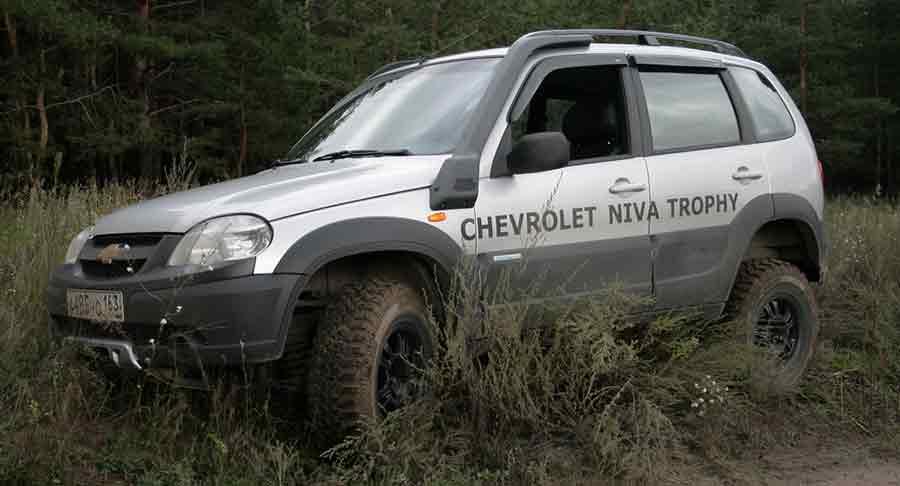 Меняем масло на Chevrolet Niva
