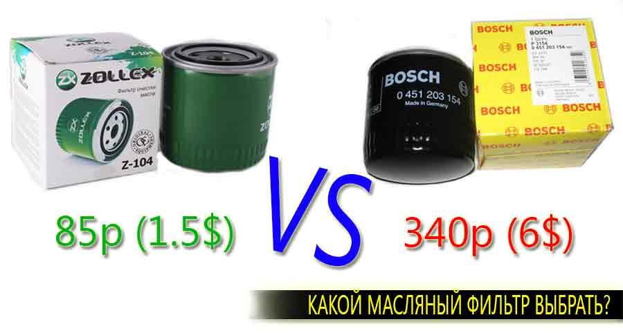 Какой масляный фильтр выбрать дорогой или дешевый?