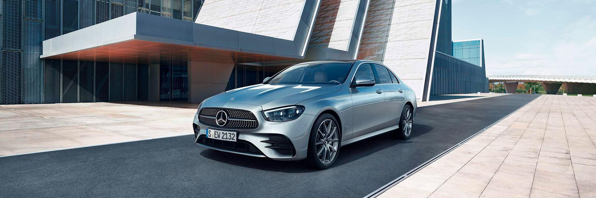 Обзор обновленного Mercedes-AMG Е-Класс
