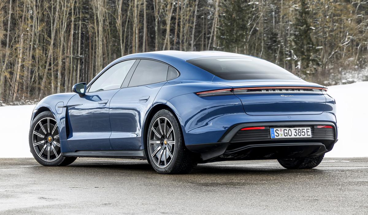 Обзор электрического Porsche Taycan
